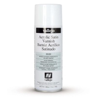 Vallejo Premium Varnish Spray Satin