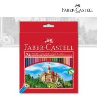 Farbstifte Castle, 24er Kartonetui