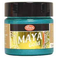 Maya Gold Serie - Türkis