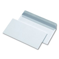 Envelopes DIN long, white, 80 g