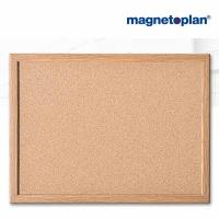 magnetoplan Korktafel mit Holzrahmen, 1.000 x 600 mm