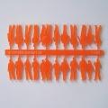 Figures, 1:100, transparent orange