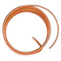 Decorative Aluminium Wire 2,0 mm orange