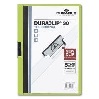 Klemmmappe Duraclip 30 - A4 grün