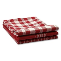 Tea Towel Copenhagen, red / white