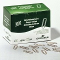 Durable Paper Clips, coppered, sharp, 32 mm