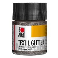 Textile Glitter 582 silber