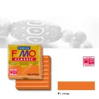 Fimo Classic, 4 orange, 56g