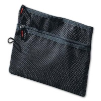 Mesh-Bag black for A5, 245 x 180 mm