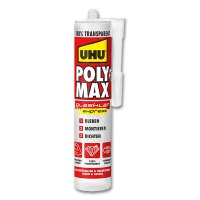 Assembly Adhesives PolyMax, crystal clear