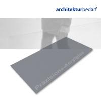 Präzisions-Acrylglas satiniert dunkelgrau