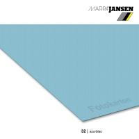 Fotokarton 300g/m² A3 - 32 azurblau