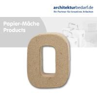Buchstabe Papier-Mâché - O