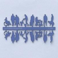 Figures Senior Citizens, 1:100, blue
