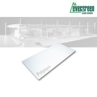 Evergreen Polystyrolplatte weiß 3 Stück