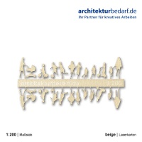 Figurenset Kinder, 1:200, beige