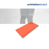 Präzisions-Acrylglas transparent orange