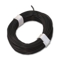 Copper Wire black - extra thin