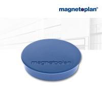 magnetoplan Discofix Rundmagnete standard dkl.blau