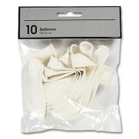 Balloons, white