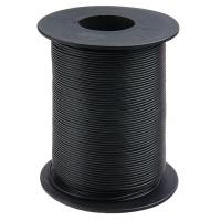 Kupferschaltlitze 100 m Rolle schwarz