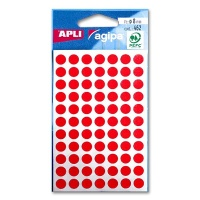 agipa Marking Points, Ø 8 mm, red