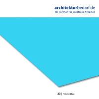 Tonzeichenpapier 50 x 70 cm, 30 himmelblau