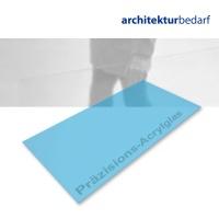 Präzisions-Acrylglas transparent hellblau