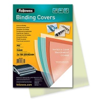 Cover Film transparent A4 200 my yellow