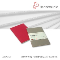 Skizzenheft Sketch & Note, Grey-Fuchsia A5 hoch
