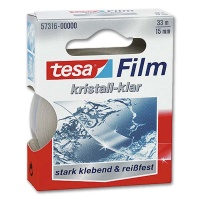 Tesa crystal clear, 15 mm x 33 m