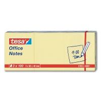 Tesa Office Notes, gelb, 40 x 50 mm