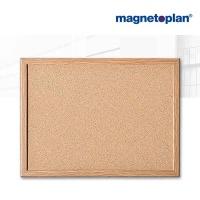 magnetoplan Korktafel mit Holzrahmen, 800 x 600 mm