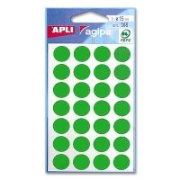 agipa Marking Points, Ø 15 mm, green