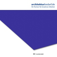 Tonzeichenpapier 50 x 70 cm, 32 dunkelviolett