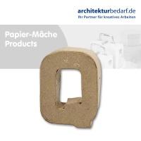 Buchstabe Papier-Mâché - Q