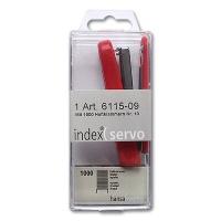 Index Stapler Red