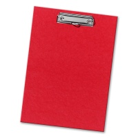 Clipboard for A4, red