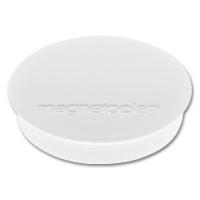magnetoplan Discofix Rundmagnete standard, weiß