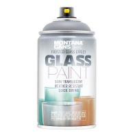 Montana Glass Paint Frosted Black