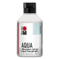 Aqua-Seidenmattlack 250 ml Flasche