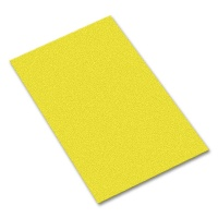Sponge Rubber Lemon Yellow