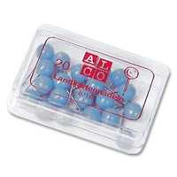 Alco Landkartennadeln 8 mm hellblau
