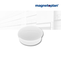 magnetoplan Discofix Rundmagnete mini weiß