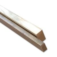 Messing Vierkantprofil 1,0 x 0,6 mm