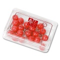 Alco Map Pins 5 mm red