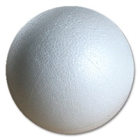 Styrofoam Ball 20 mm, 100 pcs.