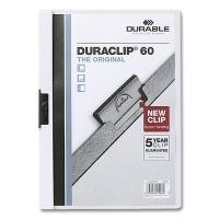 Clip Folder Duraclip 60 - A4 white