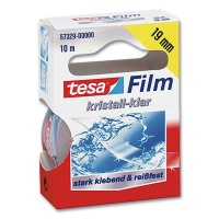 Tesa crystal clear, 19 mm x 10 m