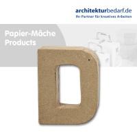 Buchstabe Papier-Mâché - D